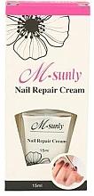 Düfte, Parfümerie und Kosmetik Regenerierende Nagelcreme - M-sunly Nail Repair Cream