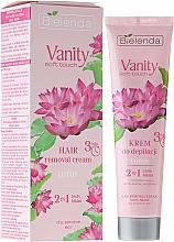 """Düfte, Parfümerie und Kosmetik Enthaarungscreme """"Lotus"""" 2in1 - Bielenda Vanity Soft Touch Lotos"""