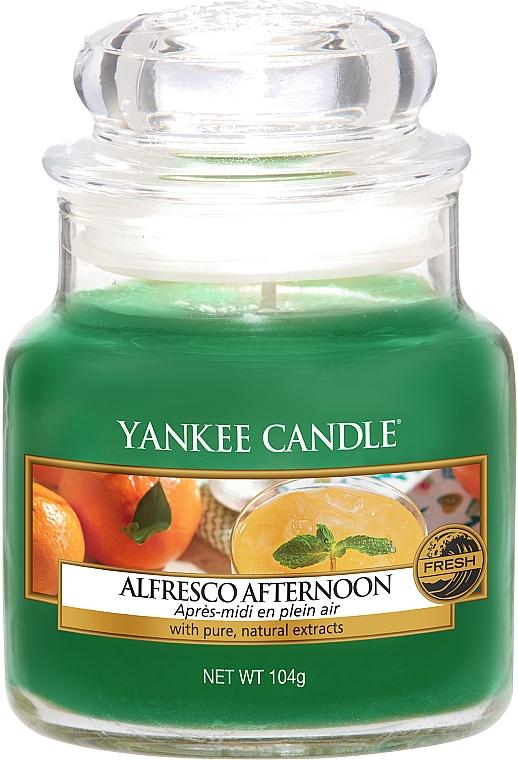 Duftkerze im Glas Alfresco Afternoon - Yankee Candle Alfresco Afternoon Jar