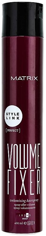 Volumen Haarspray Haltegrad 4 - Matrix Style Link Volume Fixer Volumizing Hairspray