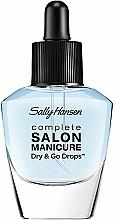 Düfte, Parfümerie und Kosmetik Nagellack-Schnelltrocknungstropfen - Sally Hansen Salon Manicure Dry And Go Drops