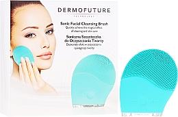 Düfte, Parfümerie und Kosmetik Elektrische Gesichtsreinigungsbürste aus Silikon minze - Dermofuture Technology