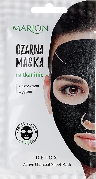 Aktivkohle-Gesichtsmaske - Marion Detox