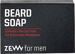 Düfte, Parfümerie und Kosmetik Natürliche Bartseife mit Aktivkohle - Zew For Men Natural Beard Soap