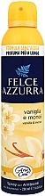 Düfte, Parfümerie und Kosmetik Duftendes Raumerfrischer-Spray Vanille und Monoi - Felce Azzurra Vaniglia e Monoi Spray