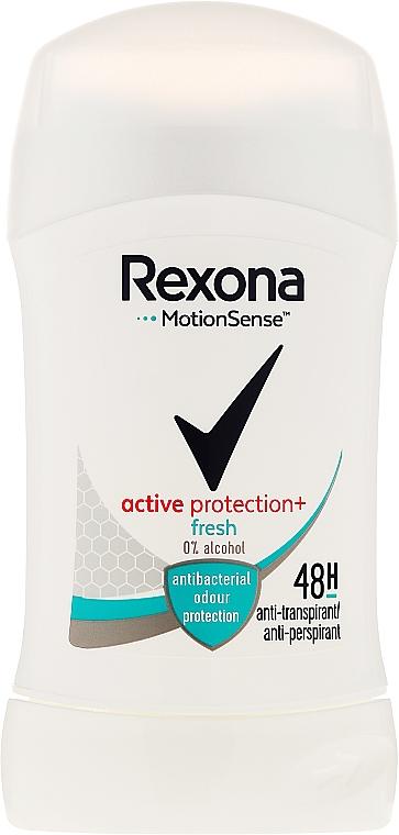 Deostick Antitranspirant - Rexona Woman Active Shiled Fresh Deodorant