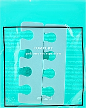 Düfte, Parfümerie und Kosmetik Pediküre Trenner minzgrün - Oriflame Pedicure Toe Separators