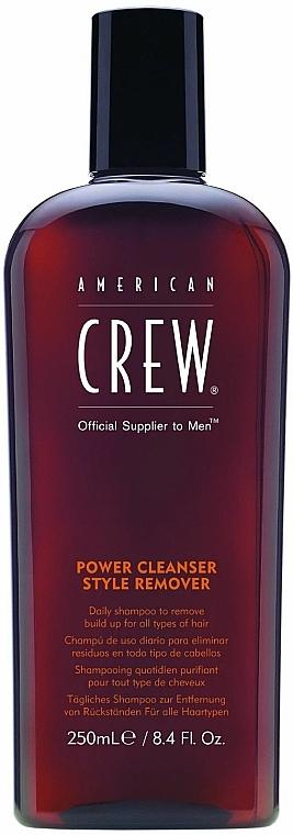 Tägliches Shampoo zur Entfernung von Rückständen für alle Haartypen - American Crew Power Cleanser Style Remover