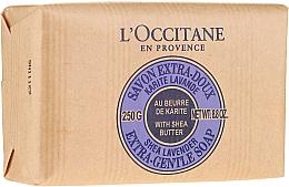 Kosmetikseife mit Sheabutter und Lavendel - L'occitane Shea Butter Extra Gentle Soap-Lavender — Bild N4