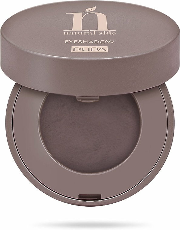 Kompakter Lidschatten - Pupa Eyeshadow Natural Side