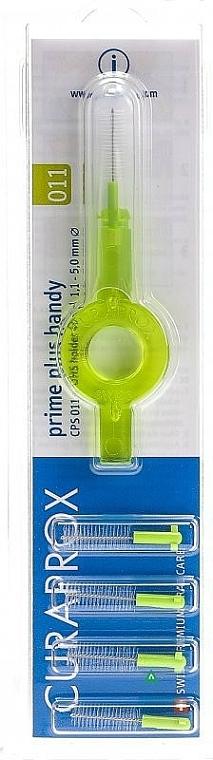 Interdentalbürsten-Set Prime plus handy 1.1-5.0 mm - Curaprox (Interdentalbürsten 5 St.) — Bild N1
