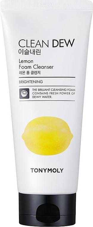 Gesichtsreinigungsschaum - Tony Moly Clean Dew Foam Cleanser Lemon