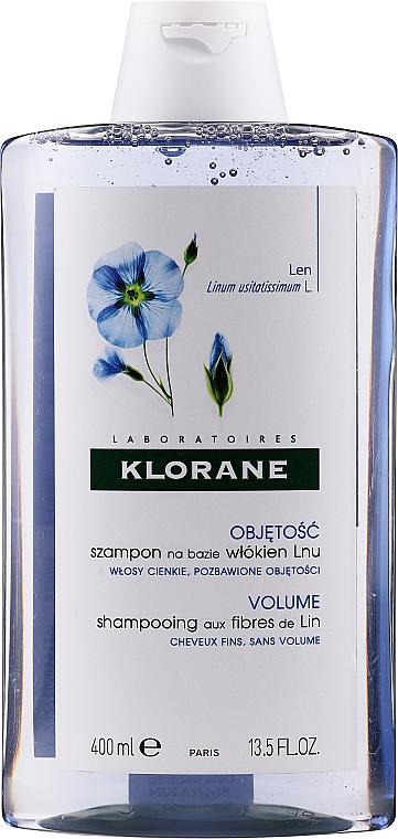 Volumen-Shampoo für feines Haar mit Leinfasern - Klorane Shampoo With Flax Fiber