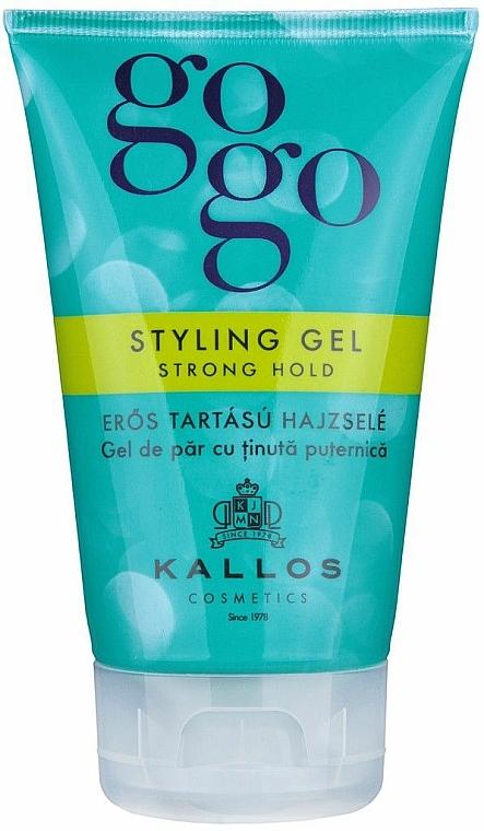 Haargel - Kallos Cosmetics Gogo Styling Gel Strong Hold