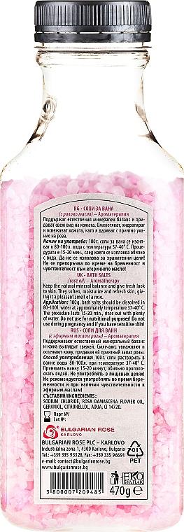Badesalz mit Rosenöl und Rosenblüten - Bulgarian Rose Bath Salts Rose — Bild N2