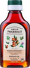 Düfte, Parfümerie und Kosmetik Regenerierendes Klettenöl für das Haar mit Argan - Green Pharmacy