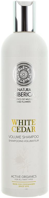 "Volumen-Shampoo ""Weiße Zeder"" - Natura Siberica Copenhagen White Cedar Volume Shampoo"