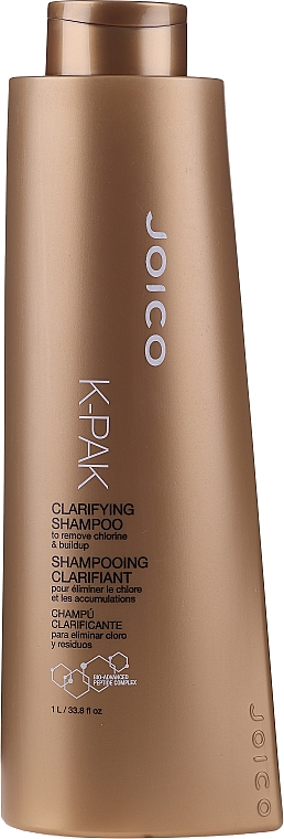 Tief reinigendes und feuchtigkeitsspendendes Shampoo für trockenes und geschädigtes Haar - Joico K-Pak Clarifying Shampoo — Bild N3