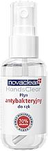 Düfte, Parfümerie und Kosmetik Antibakterielles Handreinigungsspray mit Hyaluronsäure und Aloe - Novaclear Hands Clear