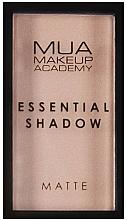 Düfte, Parfümerie und Kosmetik Lidschatten - MUA Essential Shadow Matte
