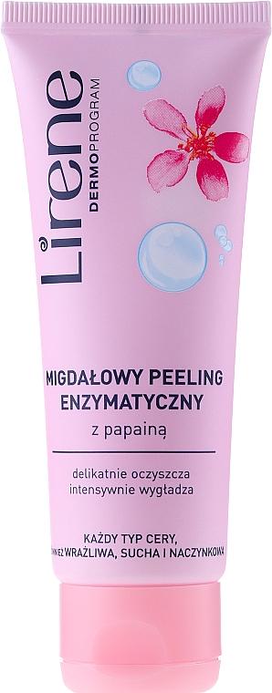 Enzymatisches Gesichtspeeling mit Papain, Mandelöl und D-Panthenol - Lirene Dermo Program Peel