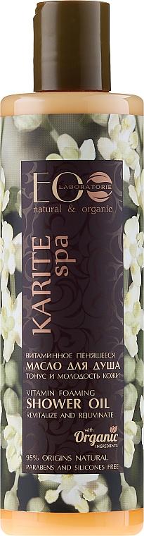 Duschöl mit Vitaminen - ECO Laboratorie Karite SPA Shower Oil