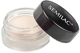 Düfte, Parfümerie und Kosmetik Lidschattenbase - Semilac Eyeshadow Base Powder