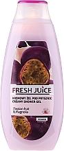 Düfte, Parfümerie und Kosmetik Creme-Duschgel mit Passionsfrucht & Magnolie - Fresh Juice Brazilian Carnival Passion Fruit & Magnolia