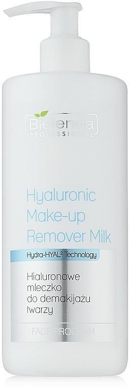 Gesichtsreinigungsmilch mit Hyaluronsäure - Bielenda Professional Hydra-Hyal Hyaluronic Make Up Removal