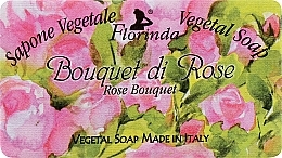 Düfte, Parfümerie und Kosmetik Naturseife Rosenstrauß - Florinda Sapone Vegetale Vegetal Soap Rose Bouquet