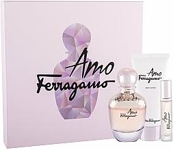 Düfte, Parfümerie und Kosmetik Salvatore Ferragamo Amo - Duftset (Eau de Parfum 100ml + Eau de Parfum 10ml + Körperlotion 100ml)