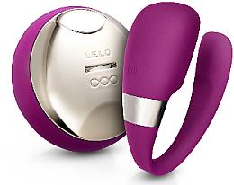Düfte, Parfümerie und Kosmetik U-förmiger Paarvibrator mit Fernbedienung violett - Lelo Tiani 3 Deep Rose