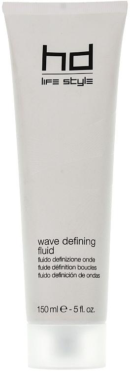 Stylingcreme für lockiges Haar Mittelstarke Verriegelung - Farmavita HD Wave Defining Fluid