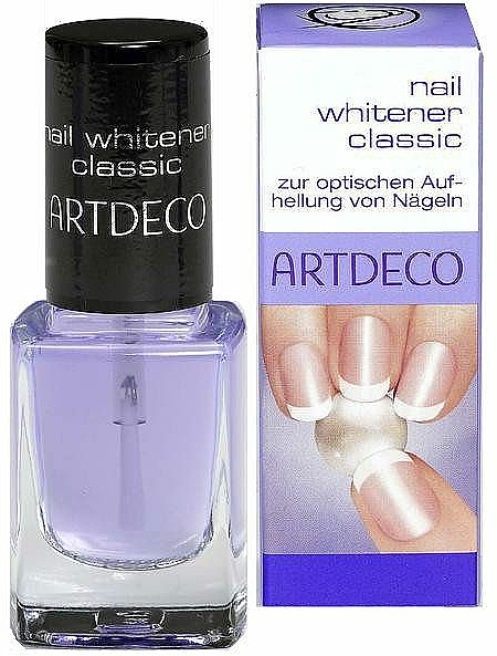 Nagellack zur optischen Aufhellung von Nageln - Artdeco Nail Whitener Classic