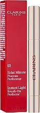 Feuchtigkeitsspendender Concealer - Clarins Instant Light Brush-On Perfector — Bild N2