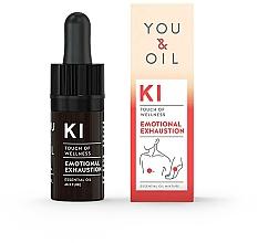 Düfte, Parfümerie und Kosmetik Bioaktive ätherische Ölmischung mit Ho-Holz und ätherischen Lavendel - You & Oil KI-Emotional Exhaustion Touch Of Welness Essential Oil