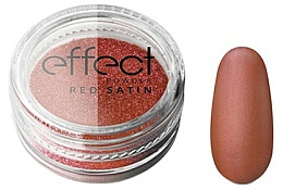 Düfte, Parfümerie und Kosmetik Nagelpuder - Silcare Red Satine Effect Powder