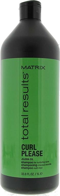 Pflegendes Shampoo für lockiges Haar - Matrix Total Results Curl Shampoo