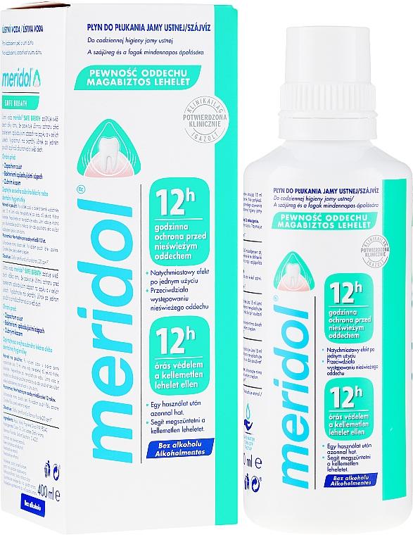 Mundspülung für Schutz vor Mundgeruch - Meridol Safe Breath Liquid Mouthwash