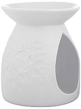 Düfte, Parfümerie und Kosmetik Aromalampe weiß 10,5x12,5 cm - Yankee Candle Tart Burner Pastel Hues Floral White 2