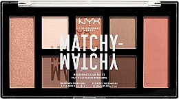 Düfte, Parfümerie und Kosmetik Make-up Palette - NYX Professional Makeup Matchy Matchy Palette