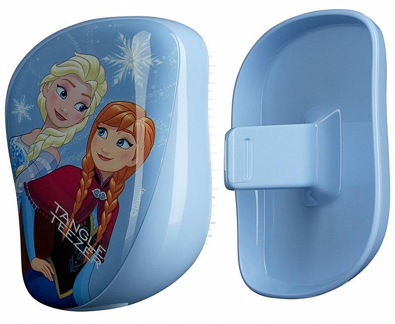 Kompakte Haarbürste - Tangle Teezer Compact Styler Disney Frozen Brush