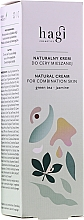 Düfte, Parfümerie und Kosmetik Natürliche Creme für Mischhaut mit grünem Tee und Jasmin - Hagi Natural Cream