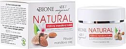 Düfte, Parfümerie und Kosmetik Feuchtigkeitsspendende Gesichtscreme für trockene und empfindliche Haut mit Mandelöl - Bione Cosmetics Nourishing Cream For Very Dry And Sensitive Skin