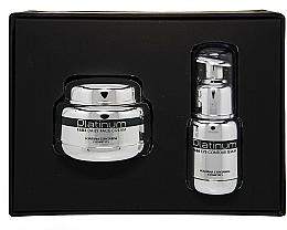 Düfte, Parfümerie und Kosmetik Gesichtspflegeset - Fontana Contarini Platinum Gift Set (Gesichtsserum 30ml + Gesichtscreme 50ml)