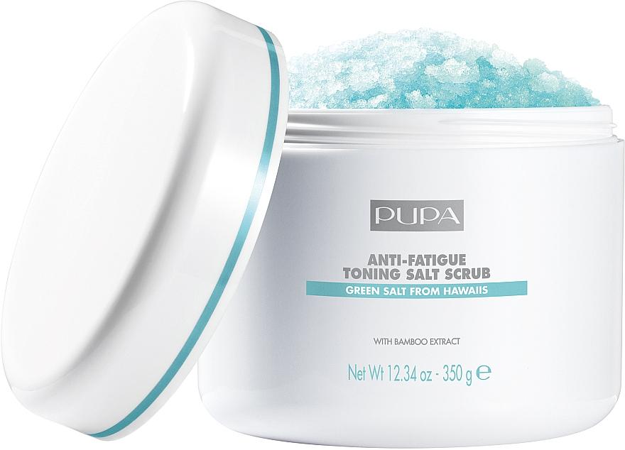 Festigendes Salzpeeling gegen Müdigkeit - Pupa Home Spa Anti-Fatigue Toning Salt Scrub