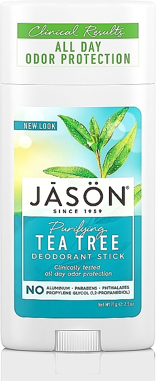 Deostick mit Teebaumöl - Jason Natural Cosmetics Pure Natural Deodorant Stick Tea Tree