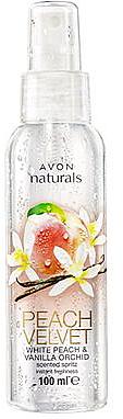 Parfümiertes Körperspray mit Pfirsich- und Vanilleduft - Avon Naturals Peach