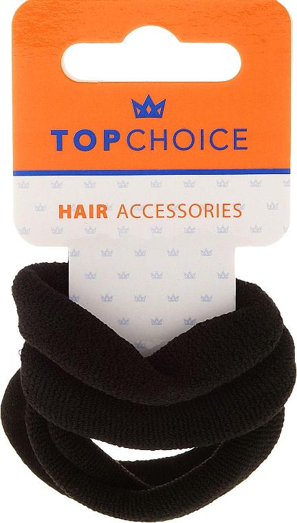 Haargummis schwarz 4 St. - Top Choice