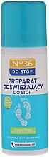 Düfte, Parfümerie und Kosmetik Antibakterielles und erfrischendes Fußspray mit Teebaumöl - Pharma CF No36
